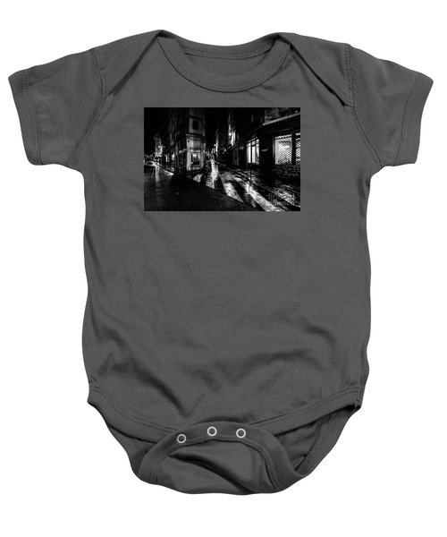 Paris At Night - Rue De Seine Baby Onesie