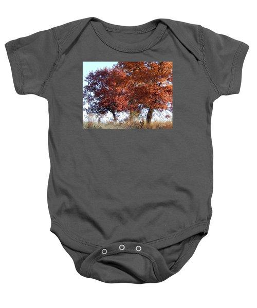 Passing Autumn Baby Onesie
