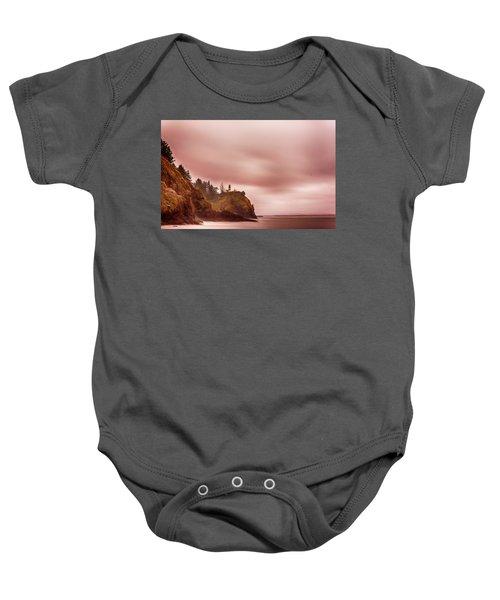 Pastel Seascape Baby Onesie