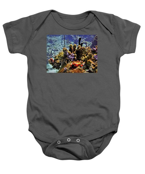 Patch Reef Bluff Baby Onesie