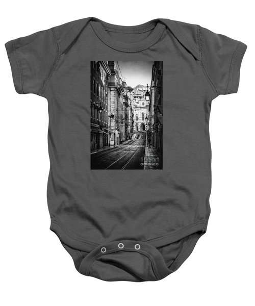 Peace Within  Bw Baby Onesie