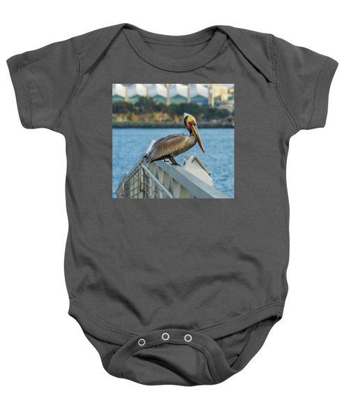 Peli-can Or Can't? Baby Onesie
