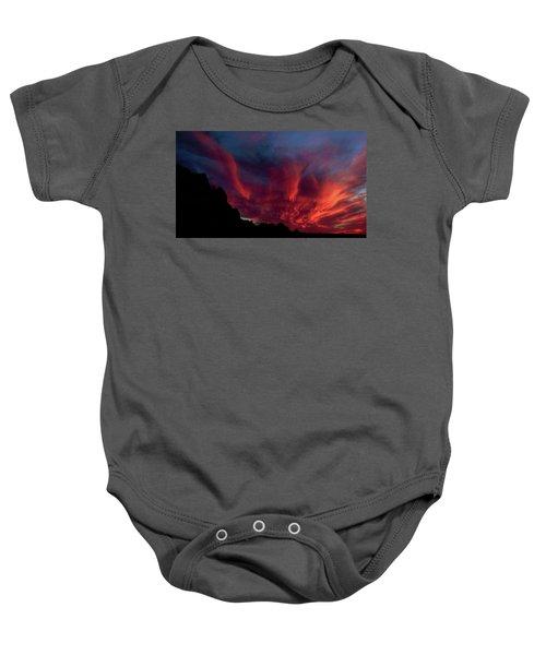 Phoenix Risen2 Baby Onesie