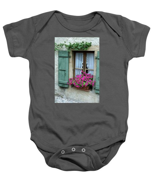 Pink Window Box Baby Onesie