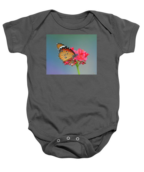 Plain Tiger Or African Monarch Butterfly Dthn0246 Baby Onesie