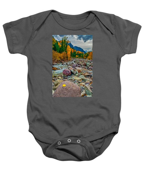 Point Of Color Baby Onesie