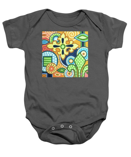 Pop Botanical 1 Baby Onesie
