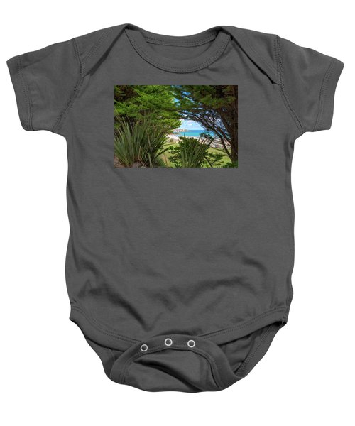 Porthminster Behind The Trees - St Ives Cornwall Baby Onesie