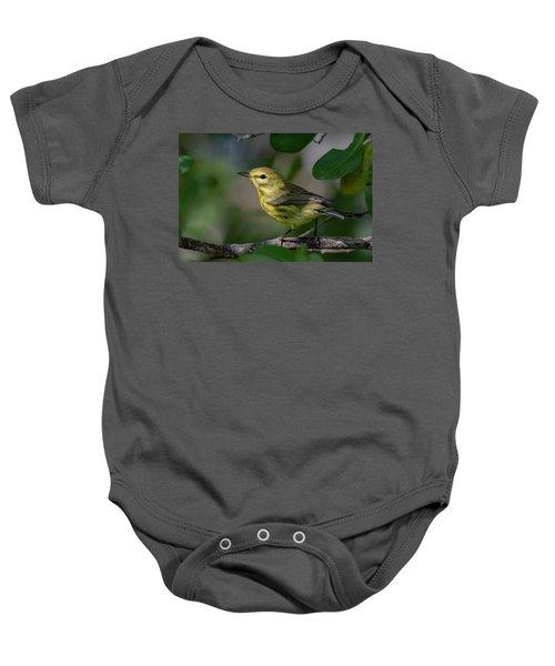 Prairie Warbler Baby Onesie