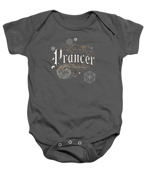 Prancer Baby Onesie