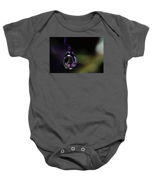 Purple Dreams Baby Onesie