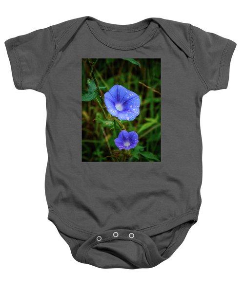 Purple Rain Baby Onesie