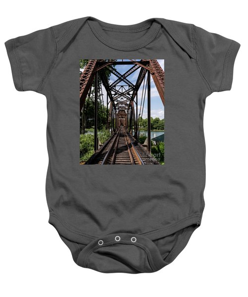Railroad Bridge 6th Street Augusta Ga 1 Baby Onesie