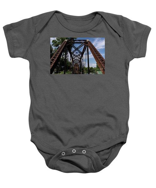 Railroad Bridge 6th Street Augusta Ga 2 Baby Onesie