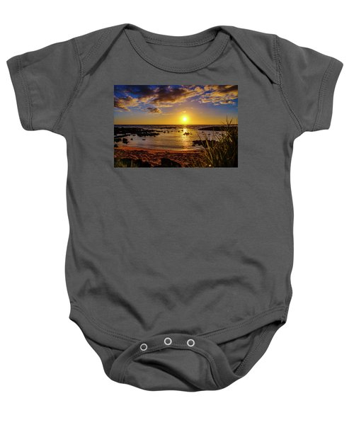 Baby Onesie featuring the photograph Rainbow Creator by John Bauer