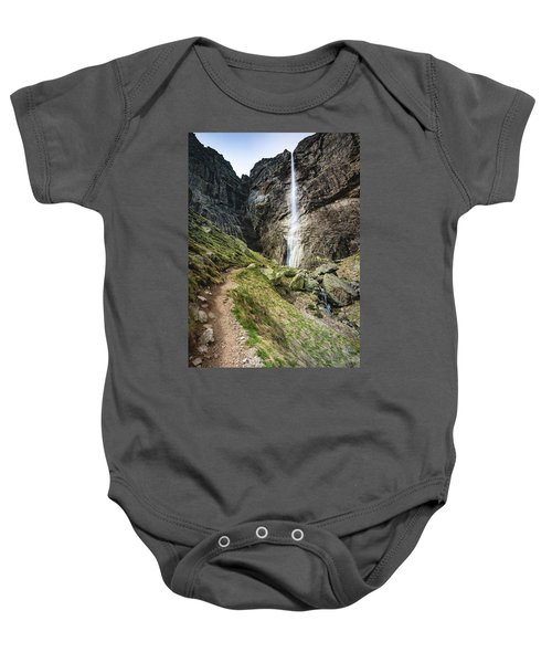 Raysko Praskalo Waterfall, Balkan Mountain Baby Onesie