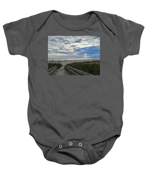 Ready For Sunset Baby Onesie