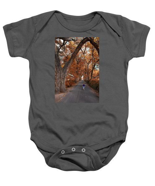 Redhead Fall Walkabout Baby Onesie