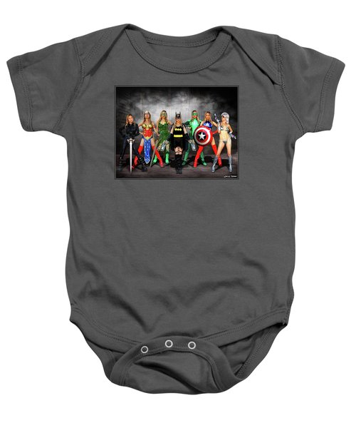 Reflections Of A Hero Baby Onesie