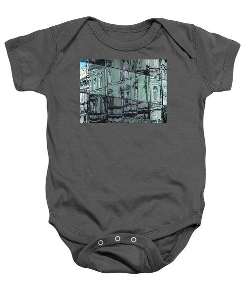 Reflection On Modern Architecture Baby Onesie