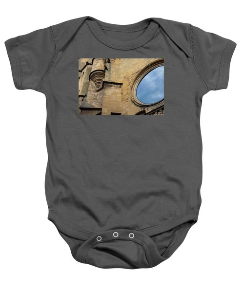 Reflection, Sarlat, France Baby Onesie