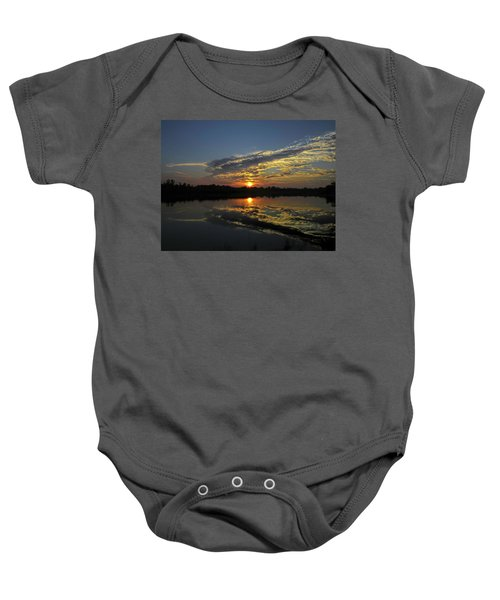 Reflections Of The Passing Day Baby Onesie