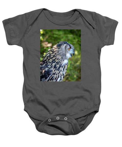 Rescued Owl Baby Onesie