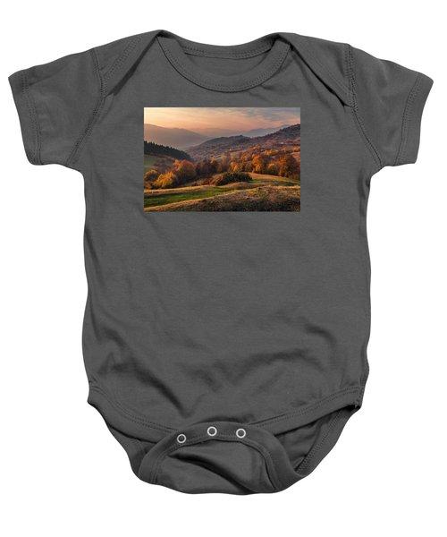 Rhodopean Landscape Baby Onesie