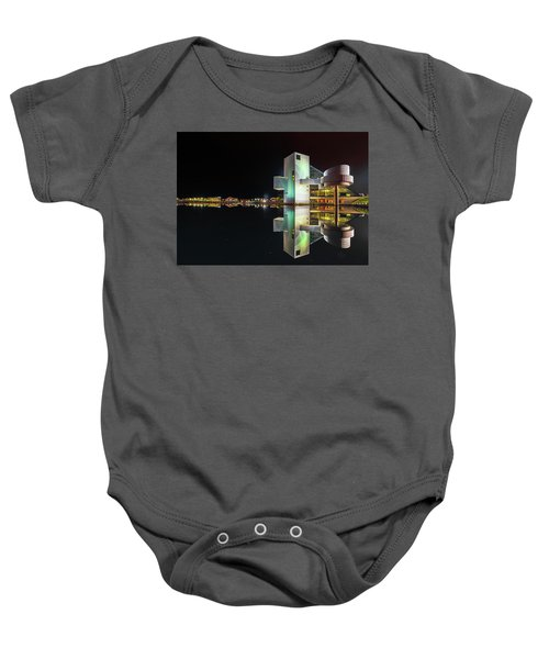 Rock Hall Reflections  Baby Onesie