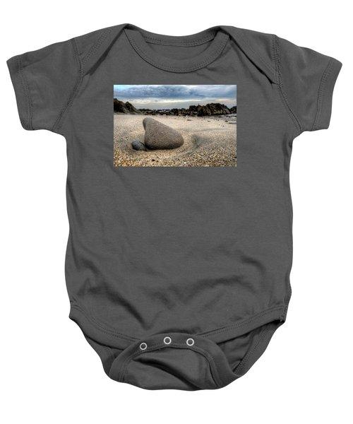 Rock On Beach Baby Onesie