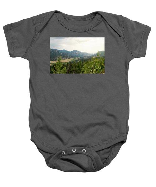 Rocky Mountain Overlook Baby Onesie
