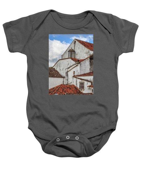 Rooftops Of Obidos Baby Onesie