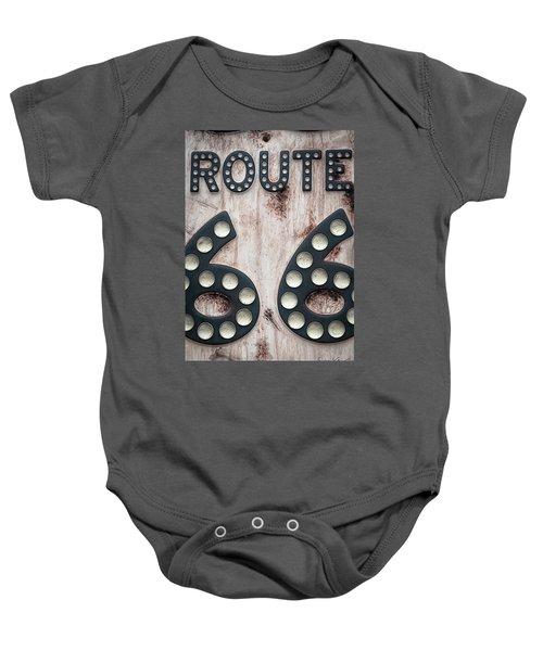 Route 66 Baby Onesie