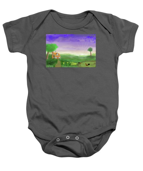 Rural Wonder Baby Onesie