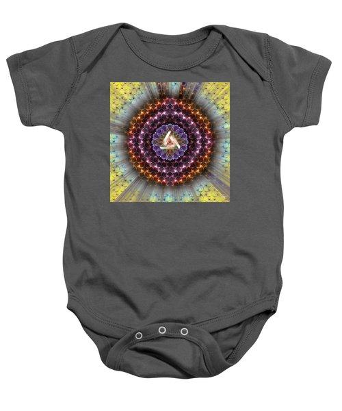 Sacred Geometry 742 Baby Onesie