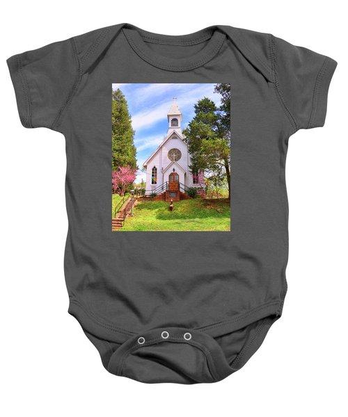 Saint Joseph Roman Catholic Church In Columbia Virginia Baby Onesie