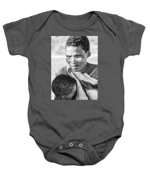 San Mother And Child Baby Onesie