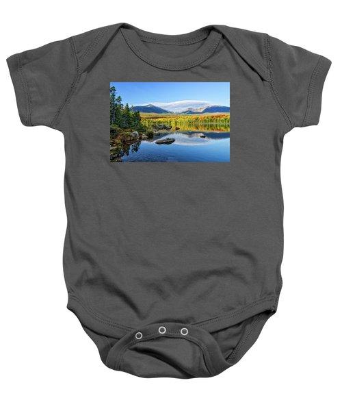 Sandy Stream Pond Baxter Sp Maine Baby Onesie