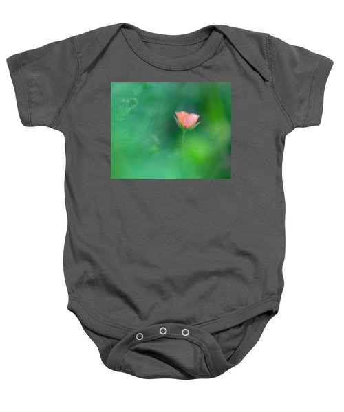 Scarlet Pimpernel Baby Onesie