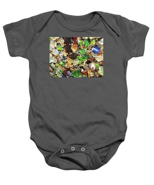 Baby Onesie featuring the photograph Sea Glass by Shane Kelly