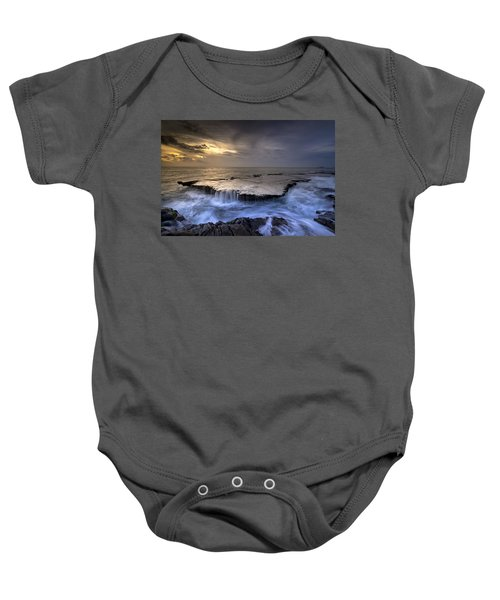 Sea Waterfalls Baby Onesie