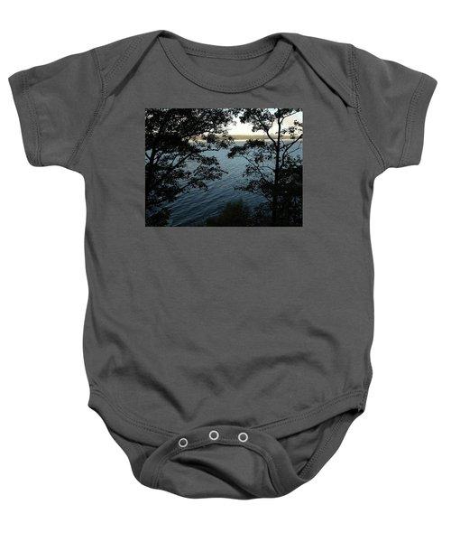 Seneca Lake Baby Onesie