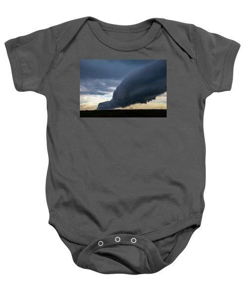 September Thunderstorms 003 Baby Onesie