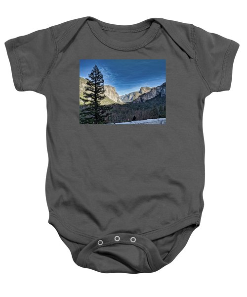 Shadows In The Valley Baby Onesie