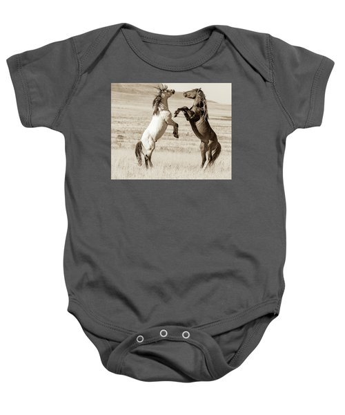 Baby Onesie featuring the photograph Shall We by Mary Hone