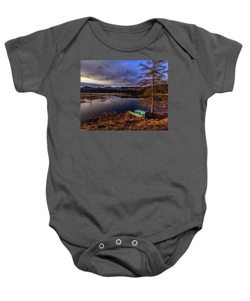 Shaw Pond Sunrise - Landscape Baby Onesie