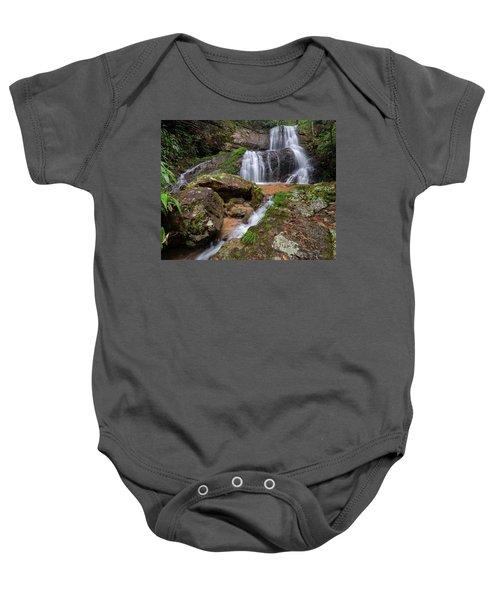 Shu Nu Waterfall 8x10 Horizontal Baby Onesie