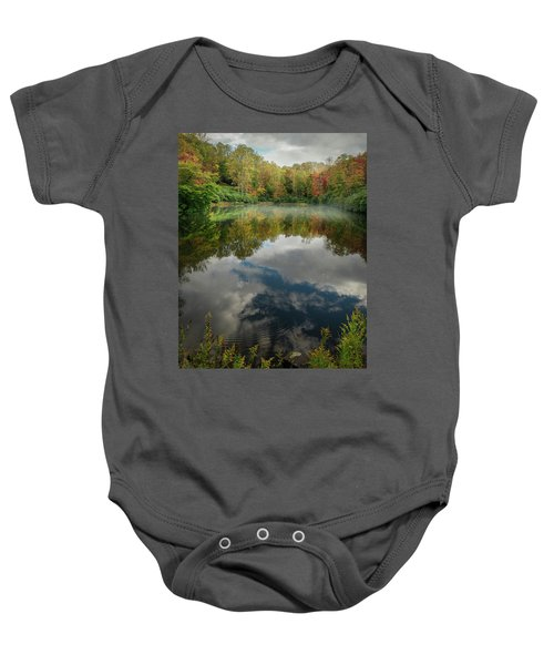 Sims Pond Blowing Rock North Carolina Baby Onesie