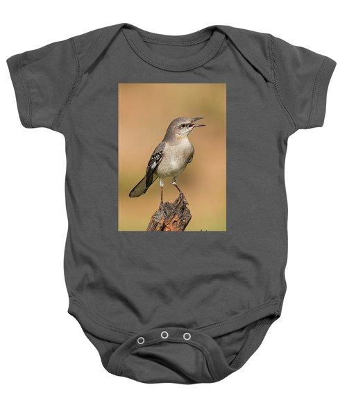 Singing Mockingbird Baby Onesie