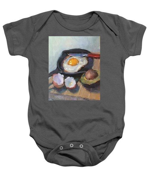 Skillet Breakfast Baby Onesie
